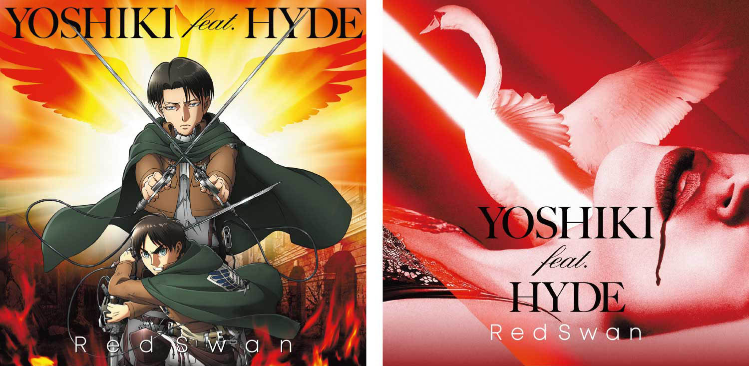 YOSHIKI feat  HYDE attacks the world charts with